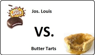 Jos. Louis vs. Butter Tarts