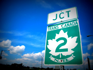 Trans Canada Highway Sign