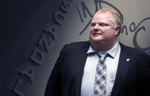 Scandal Hits Rob Ford - Again