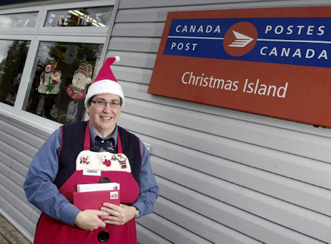 Christmas Island NS. Sending Holiday Cheer