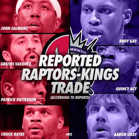 Raps Pull Off Another Big Move