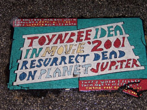 "What are the ""Toynbee Tiles?"